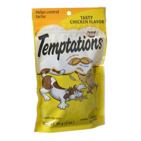 Whiskas Temptations - Tasty Chicken Flavor