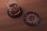 Supernatural Inspired Coaster
