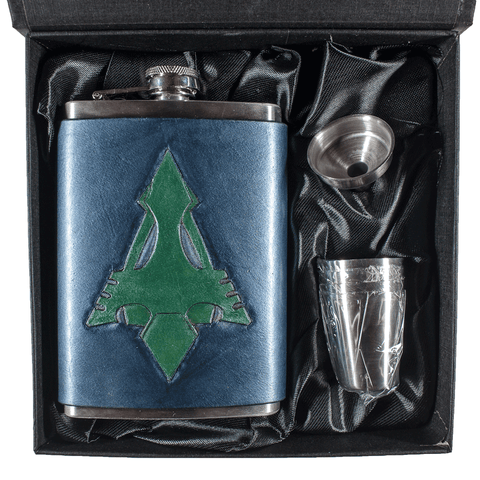 Arrow Inspired Flask Set