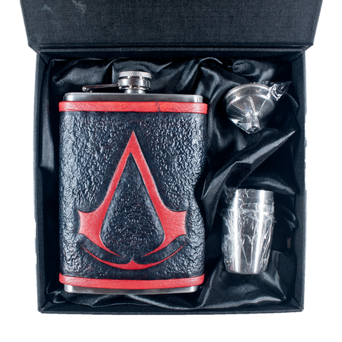 Assassins Creed Inspired Flask Set