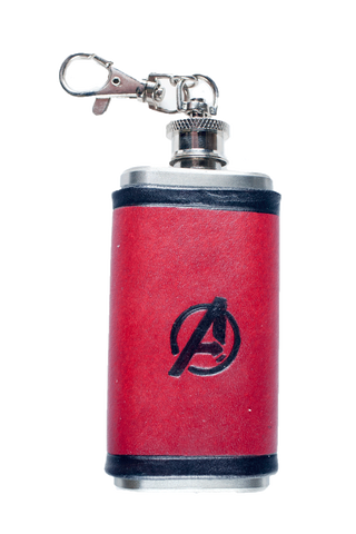 Avengers Inspired Mini Flask