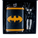 Batman Inspired Flask Set
