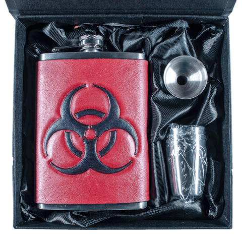 Biohazard Flask Set