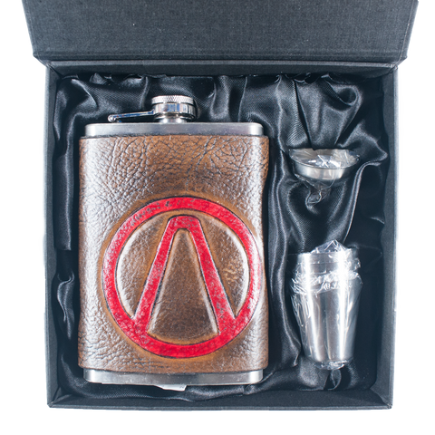 Borderlands Vault Hunter Inspired Flask Set