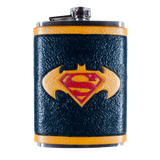 Batman vs. Superman Inspired Flask Set