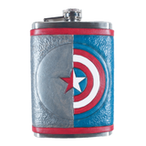 Captain/Bucky Inspired Flask