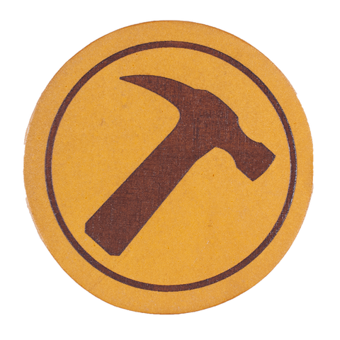 Captain Hammer Inspired Coaster