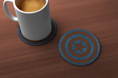 Captain America Coaster
