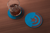 Captain America/Winter Soldier Inspired Coaster