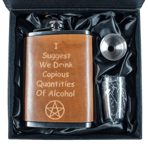 Copious Quantities of Alcohol Flask Set