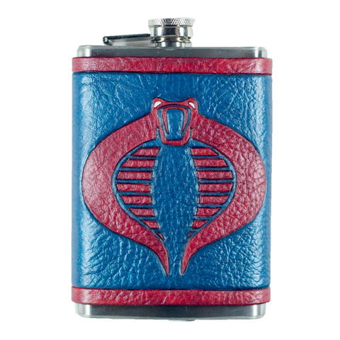 GI Joe Cobra Inspired Flask Set