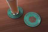 Crit Fail Assassinate Drink Coaster