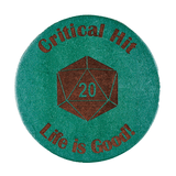 Critical Hit Drink Coaster