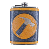Captain Hammer Inspired Flask Set