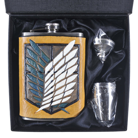 Attack on Titan Scouts Inspired Flask Set
