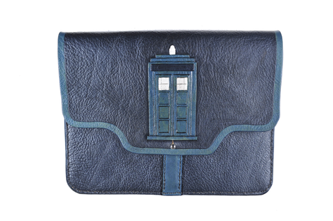 Tardis Inspired Tablet Sleeve