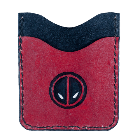 Deadpool Inspired Clip Wallet