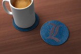 Death Note Lawliet Drink Coaster