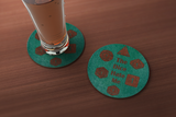 Dice Hate Me Drink Coaster