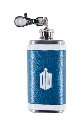 Doctor Who Inspired Mini Flask