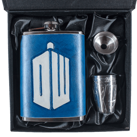 Time Traveler Flask Set