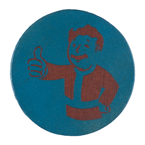 Fallout Inspired Coaster