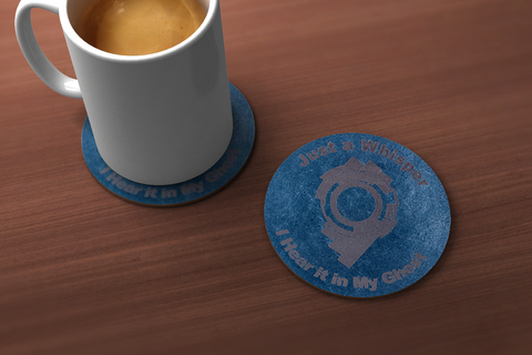 Ghost in the Shell Whisper Drink Coaster