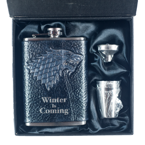 Game of Thrones Stark Inspired Flask Set