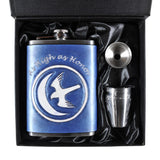 Game of Thrones House Arryn Inspired Flask Set