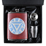 Iron Man Inspired Flask Set