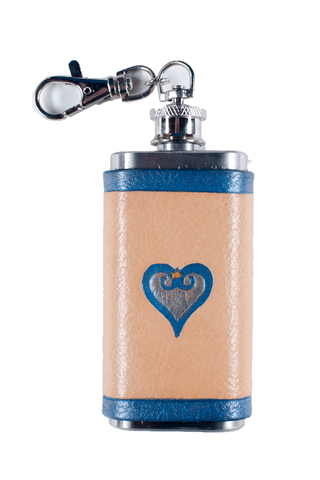 Kingdom Hearts Inspired Mini Flask