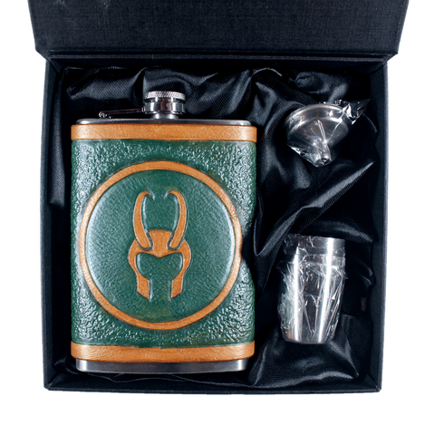 Loki Inspired Flask Set