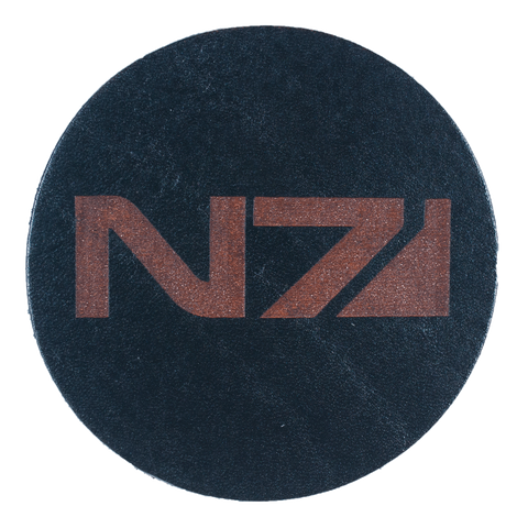 Mass Effect Inspired Coaster