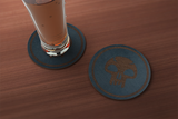 Magic The Gathering Mana Inspired Drink Coaster