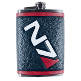 Mass Effect N7 Inspired Flask Set