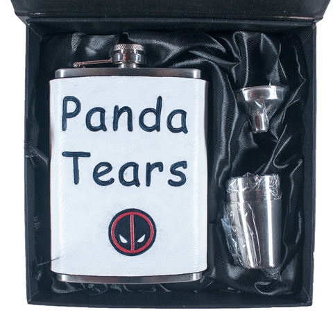 Panda Tears Merc With A Mouth Flask Set