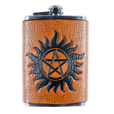 Supernatural Anti-Possession Inspired Flask Set