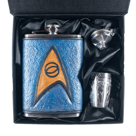 Star Trek Science Inspired Flask Set