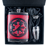 Star Wars Empire/Republic Inspired Flask Set