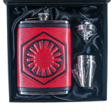 First Order Inspired Flask Set