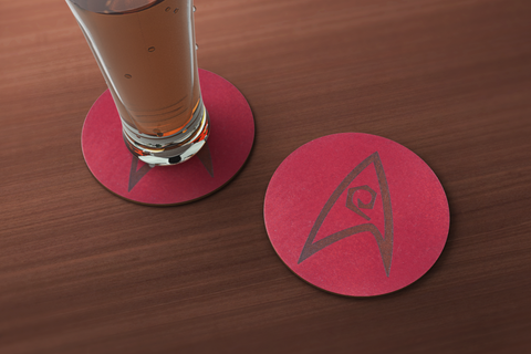Star Trek Engineering Inspired Coaster