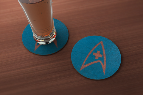 Star Trek Medical Inspired Coaster