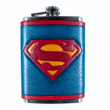 Superman Flask Set