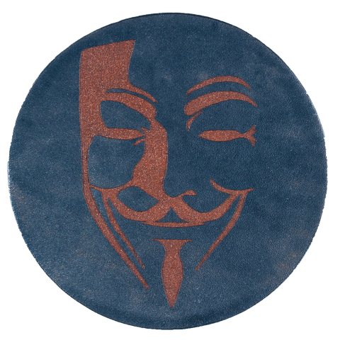 Guy Fawkes Inspired Coaster