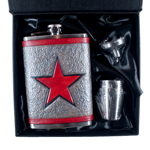Winter Soldier Inspired Flask Set