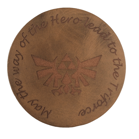 Hylian Triforce Inspired Coaster