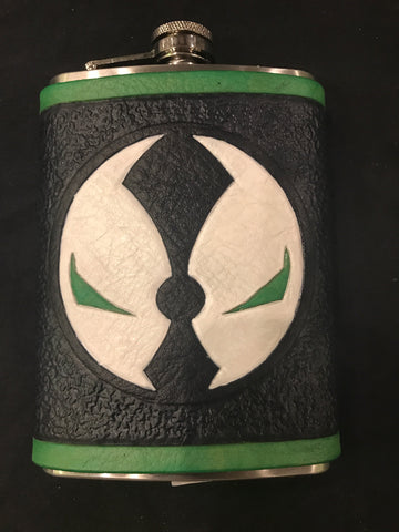 Spawn Inspired Flask Set