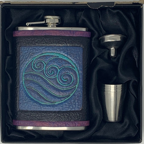 Airbender Inspired Flask Set