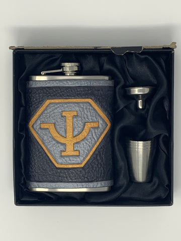 Psi Corp Inspired Flask Set