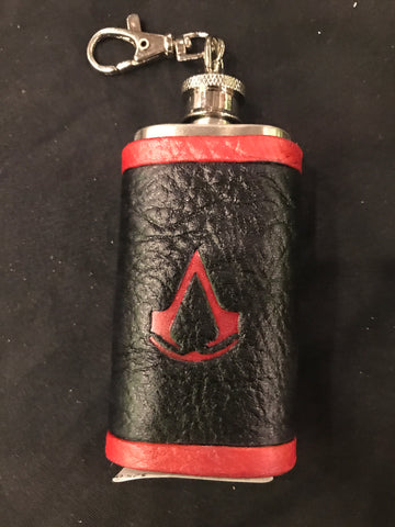 Assassin's Creed Inspired Mini Flask
